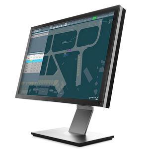 LCD air traffic control display