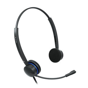 air traffic mangement headset / for air traffic controllers / noise-reduction