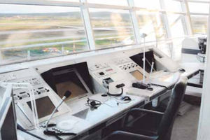 airport console / for air traffic control