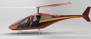 3 - 5 Pers. ultralight helicopter / piston engine / tiltrotor