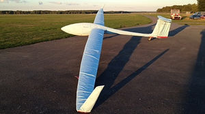 glider cover / for aircraft wings / for glass roofs