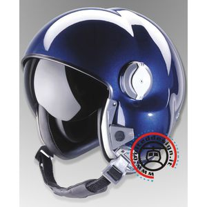 helicopter helmet / integral / with visor / with chin rest