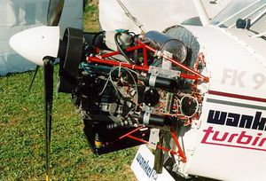 25 - 50kW Wankel engine / 25kg + / single-rotor / gasoline