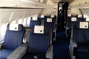 aircraft cabin seat cover