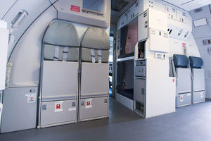 airliner crew rest compartment