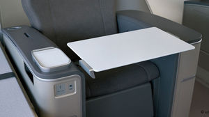 aircraft fold-out table