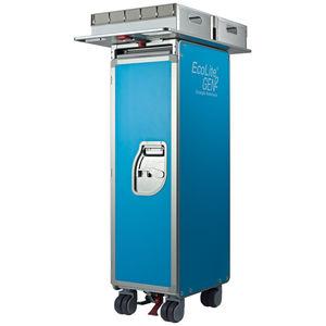 full-size aircraft cabin service cart