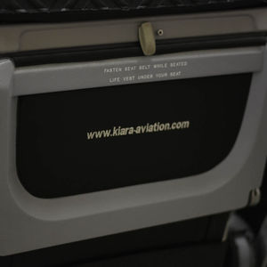 aircraft cabin seat pocket