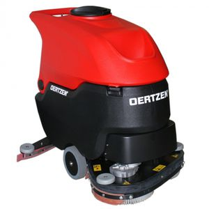 airport scrubber-dryer / walk-behind / compact / electric