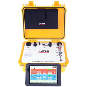 pitot-static tester / pressure / for altimeters / aeronautical
