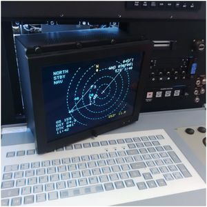 avionics instrument aircraft cabin display