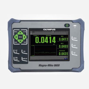 multi-material thickness gauge / digital display / magnetic / for NDT
