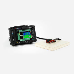 phased array flaw detector / imaging / programmable / for the aerospace industry