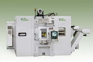 rotary transfer machine / machining / 5-axis / vertical-axis
