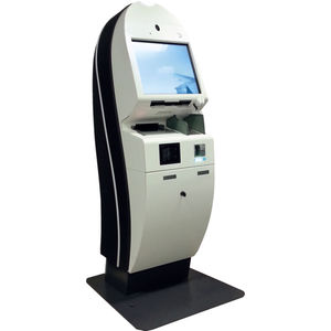 check-in kiosk with passport reader