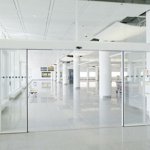 airport security interlocking door / for access control / automatic