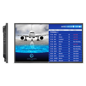 LCD airport display / 1920 x 1080 / 3840 x 2160 / for FIDS