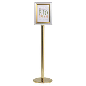 information signage / static / for airport terminals / floor-standing