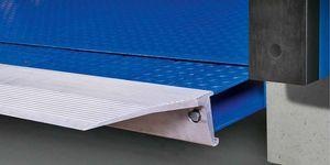 hydraulic dock leveler / telescopic