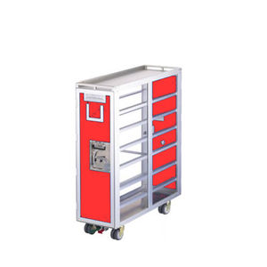 full-size aircraft meal cart