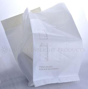 aircraft air sickness bag