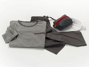 aircraft cabin pyjamas / fabric