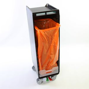aircraft waste bin
