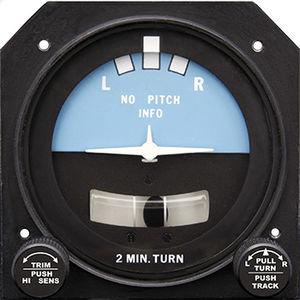 analog turn indicator