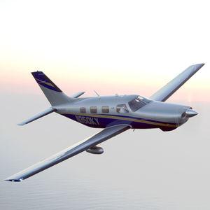 6-seater private plane