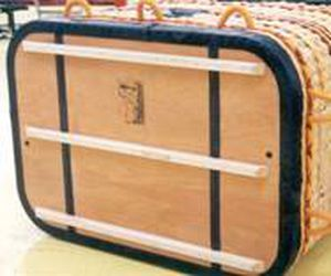 rectangular hot-air balloon basket / without seats