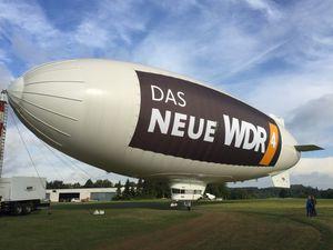 advertising airship / gas / rigid / 0 - 10 Pers.