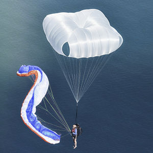 cross parachute