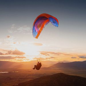 mountain paraglider / single place