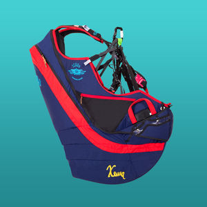 paragliding reversible harness / single place / airbag / light