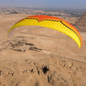 performance paramotor wing