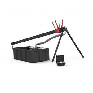 catapult drone launcher / pneumatic