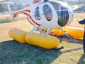 helicopter flotation system