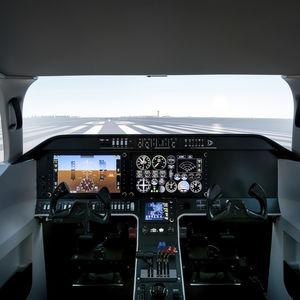 aircraft simulation cabin