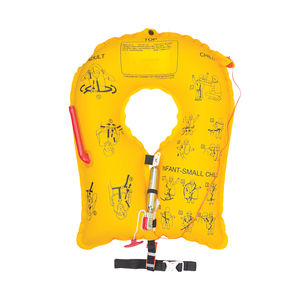 aircraft life jacket / children's / inflatable