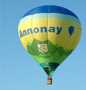 tourism hot-air balloon / passenger / advertising / 5 - 15 Pers.