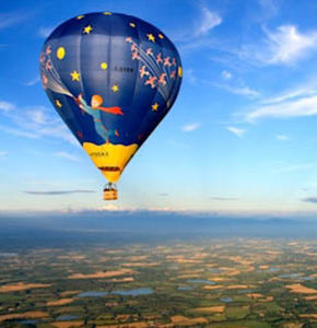 tourism hot-air balloon / 5 - 15 Pers. / 0 - 5 Pers. / with burner