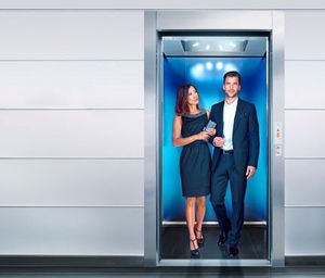 electric elevator / for airports / 1000 - 3000kg / 500 - 1000kg