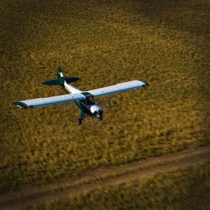 2-person private plane
