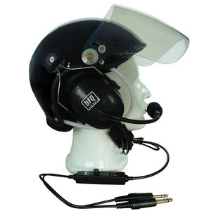 aircraft headset / for pilots / noise-reduction / with helmet