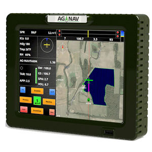 portable GPS / for aircrafts / with touch screen / precision agriculture