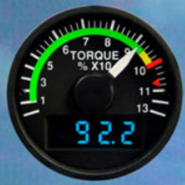 analog tachometer / electronic
