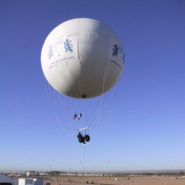advertising gas balloon / 0 - 5 Pers. / large / helium