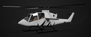 3 - 5 Pers. helicopter / utility / piston engine / single-rotor