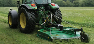 tractor-mounted mower