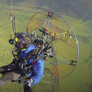 tandem paramotor carts / single-seat / with engine